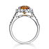 White Gold Madeira Citrine Ring