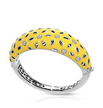 Charlotte Yellow Bangle