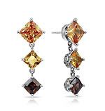 Destiny Champagne Earrings