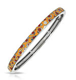 Constellations: Leopard Yellow and Brown Bangle