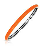 Constellations: Pure Color Orange Tapered Bangle