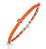 Constellations: Petals Orange Bangle