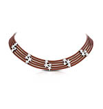 Cosmos Brown Necklace