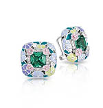 Enchanted Garden Emerald Earrings