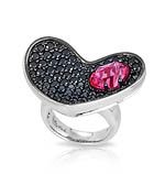 Heart In Mine Pink Ring
