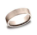 This 6mm comfort-fit satin-finished carved design band offers a classic look, but with a modern flat prof...