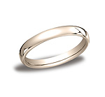 This classy and elegant 3.5mm band features a slight flat surface and offers Comfort-Fit on the inside fo...