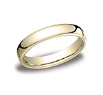 This classy and elegant 4.5mm band features a slight flat surface and offers Comfort-Fit on the inside fo...