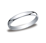 This 3mm traditional band has a classic inside and a lower dome surface on the outside that provides both a...