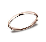 This beautiful 2mm band features a traditional domed profile and Comfort-Fit on the inside for unforgettab...