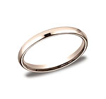 This beautiful 2.5mm band features a traditional domed profile and Comfort-Fit on the inside for unforget...