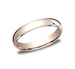This beautiful 4mm band features a traditional domed profile and Comfort-Fit on the inside for unforgettab...