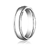 This gorgeous 6mm comfort-fit high polished carved design band appears modern with the simplicity of a traditional band.