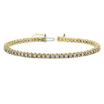 14k White Gold White Diamond Tennis Bracelet